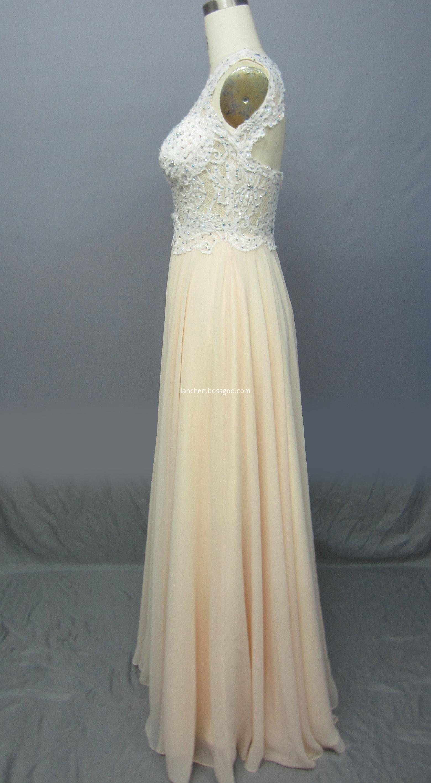 Maxi Prom Dresses side