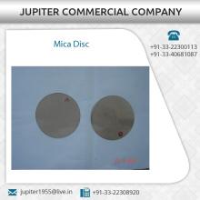 Precise Design Certified Quality Round Mica Disc Price