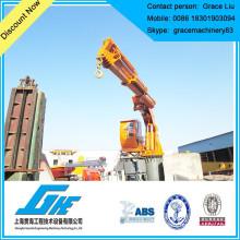 Marine electro-hydraulic deck crane