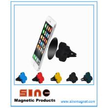 Suporte magnético para veículo inovador / saída de ar do suporte