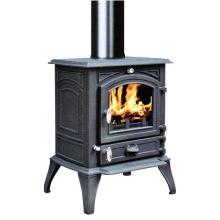 Чугунная печь для сжигания дерева (FIPA063) / Пеллетная печь