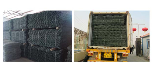 High Quality Galvanized Hexagonal Gabion Box