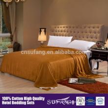 preço de fábrica de alta qualidade 100% colcha de seda de fibra De Bambu
