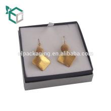 Latest Designer Earring Gift Flock Jewellery Earring Boxes