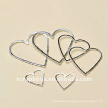 алюминиевые рамы сердца формы Держатель этикетки