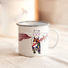 10cm(700ml) color body enamel mugs