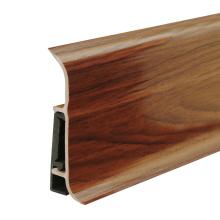 F80-A, Cheap PVC fitting plastic skirting board pvc wall skirting board skirting board profiles