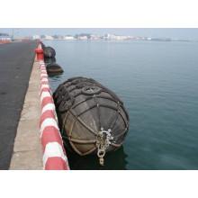 ISO17357 Tipo certificado Yokohama guardabarros neumáticos de goma del barco marino para la venta
