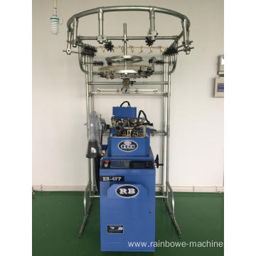 Top Quality for Single Cylinder Sock Knitting Full Automatic Computeried Plain Sock Machine export to China Factories