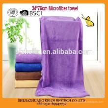 Hebei fabricante de toallas de cabello de microfibra