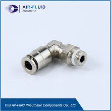 Air-Fluid Push in fitting Codo Male Taper.
