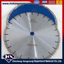Filet de scie diamantée de segment circulaire de 350 mm pour pierre