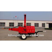 Chine meilleur diesel bois chipper, déchiqueteuse à bois diesel 22hp, déchiqueteuse à bois avec moteur diesel