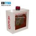 Für AED-Defibrillatorschrank mit Alarmfunktion