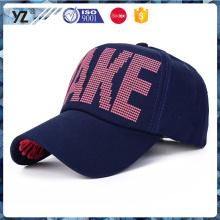 Bordado delantero de encargo de la impresión / visera trasera 5 gorra de béisbol del panel