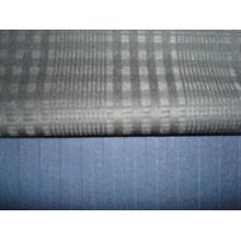 Tissu à rayures en laine