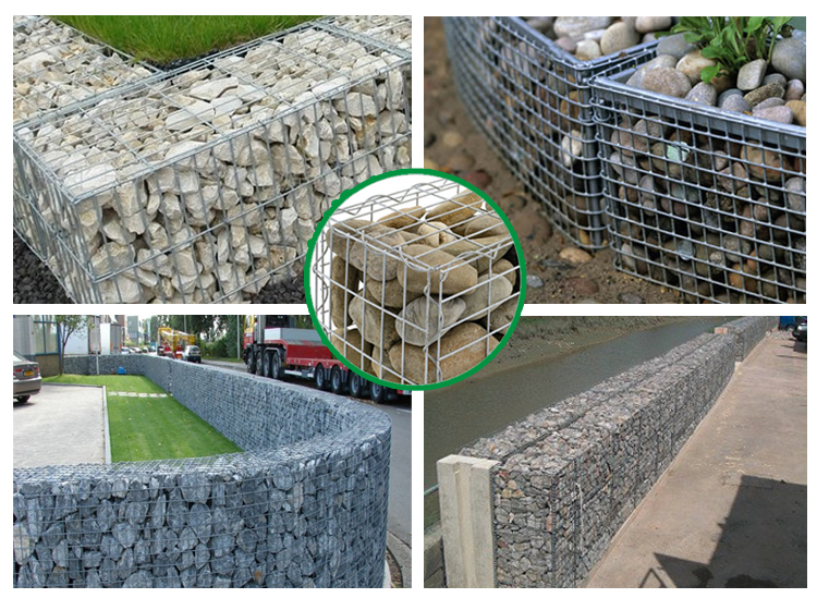 Welded gabion application