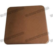High Quality 201 Edelstahl Hairline Blatt für Dekorationsmaterialien
