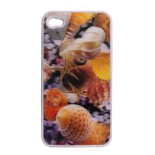 Etiqueta engomada linda 2015 del teléfono celular 3D con los animales de mar