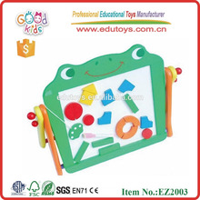 Magnetic Board Learning Toy - Tablero de escritura del bebé, caballete con taburete