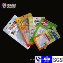 3-seitige Siegel-Haustier-Nahrungsmittelverpackungs-Beutel