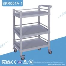 Carro de tratamiento de hospital SKR001-1 con alto nivel y alta calidad