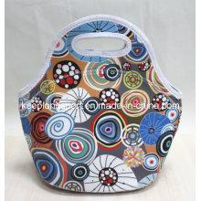Full Color Printing Custom Neoprene Picnic Lunch Bag