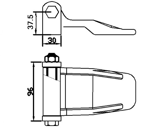 International Standard Door Colser Hinge