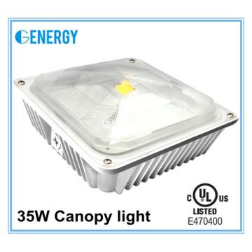 led parking lot lighting retrofit c UL 35W led canopy light 2700lm with 3years warranty
