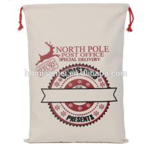 Hochwertige personalisierte Original Santa Socke Tote Weihnachtsdekoration Schöne Weihnachtsbaum Taschen
