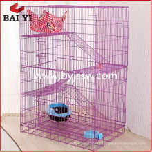 Top selling large cat cage/metal cat cage with wheels
