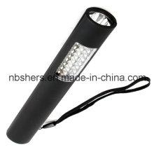 Dual-Function 24 + 1 LED Work Light Torch Magnetic Backside