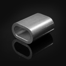 Oval Aluminium Ferrule for rope and sling