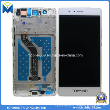 Cellphone Screen for Huawei P9 Lite LCD Screen with Touch Screen with Frame