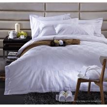 Set de sábanas 100% algodón Satin Check (WS-2016330)