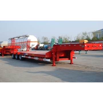 60T Tri-axle Lowbed Semi-Trailer