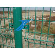 ПВХ оцинкованной Сварной сетки забор для сада и дома