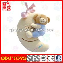 Großhandelsbabybär auf Mondspielzeugbaby spielt Porzellangroßverkauf