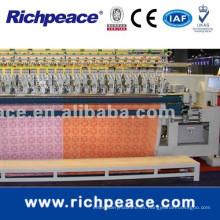Richpeace Computerizado doble aguja de acolchado y máquina de bordado