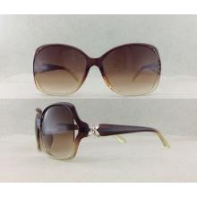Moda estilo Ladies Sun lector de gafas con el templo especial P02011