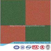 Outdoor Interlocking Rubber Floor Tiles