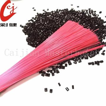 PET Pink Brush Masterbatch Granules