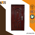 2014 new design galvanized security steel door anti-fire