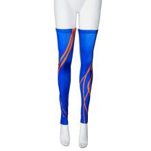 Anti-UV Sublimted personalizado Sports Leg manga