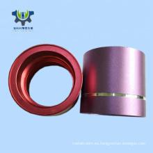 Pieza de aluminio cnc de alta precisión