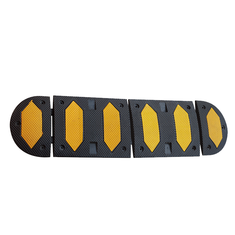 high intensity rubber road speed bumps