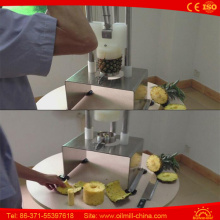 Manual Pineapple Coring Peeler Core Removing Machine