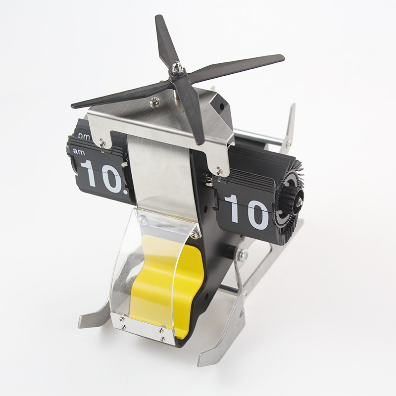 Helicopter Flip Clock