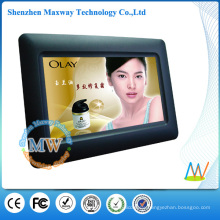 800*480 resolution 7 inch single function digital photo frame