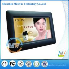 Quadro digital da foto das funções simples do LCD de 7 polegadas